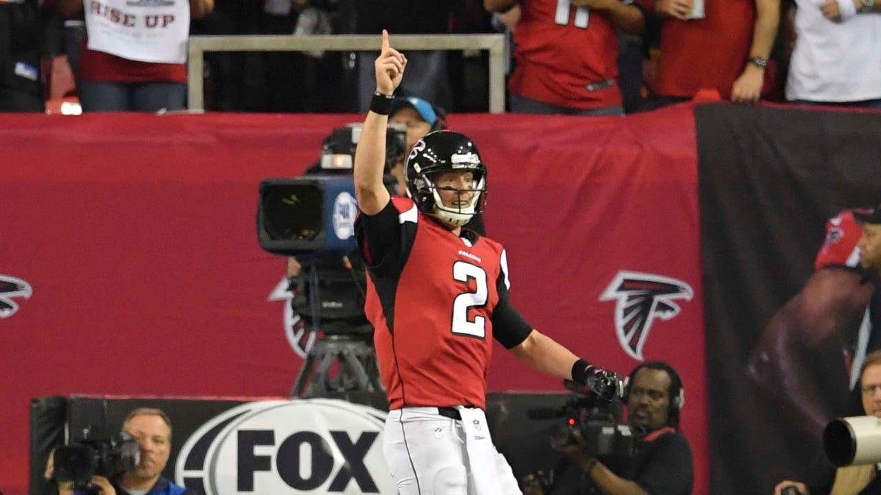 Matt Ryan threw for 392 yards and four TDs, and the Falcons routed the Packers 44-21 to advance to the Super Bowl for the second time in franchise history.