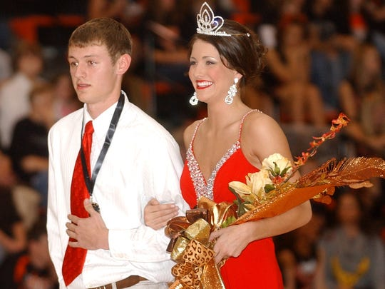 Savannah Skidmore was named the 2012-2013 Homecoming