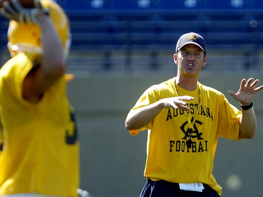 Brad Salem led Augustana to consecutive 8-win seasons in his final two years at Augustana.
