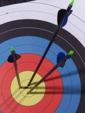 You can get through those cold winter months by taking a class in archery.