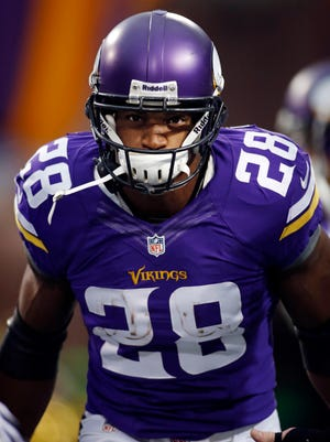 Minnesota Vikings running back Adrian Peterson has been accused of injuring a second son.