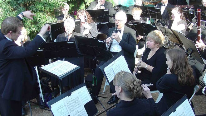 The Milwaukee Concert Band performs at the Mitchell Park Conservatory (Domes).