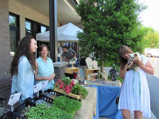 The Dixie Lee Farmers Market is open at the Renaissance/Farragut
