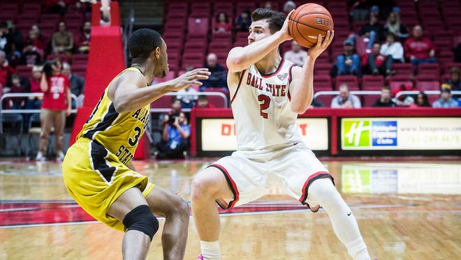 Ball State defeated Alabama State 73-48 during their game at Worthen Arena Thursday, Dec. 22, 2016.