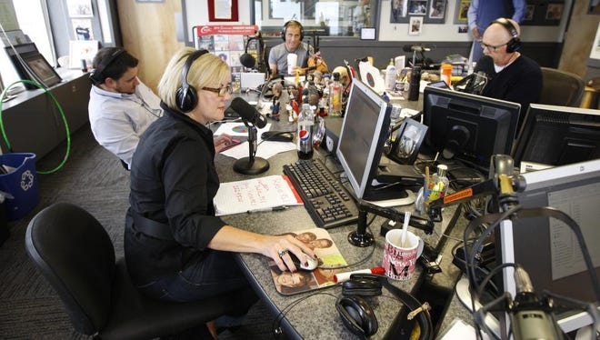 Kimberly and Beck are back on the air waves with their first show today, Sept., 2014 on Radio 95.1.   Beside Kinberly is executive producer Pat McMahon. They were chatting with John DiTullio about the Buffalo Bills and Ray Rice.