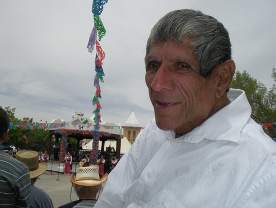 Lalo Natividad enjoys Cinco de Mayo, one of the traditional
