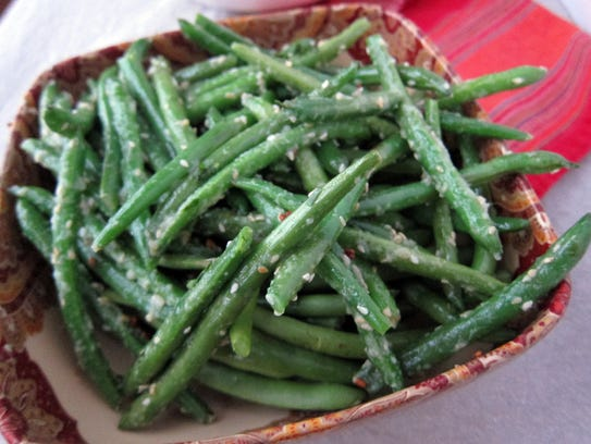 Ginger and Fenugreek Green Beans make a simple side.