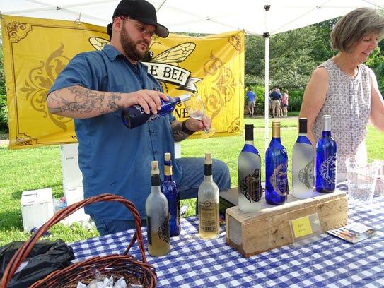 Humble Bee Vineyards of Lakewood was among the seven