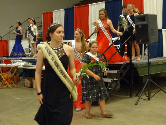 The Marion County Fair royalty were crowned Monday