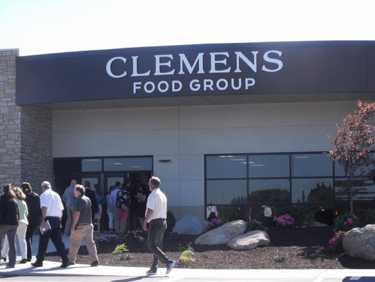 The entrance to the new Clemens Pork Processing Plant