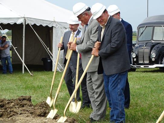 Ohio Department of Agriculture Director David Daniels,
