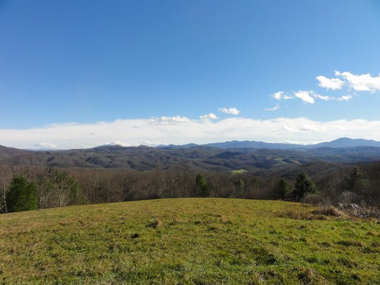 More than 1,600 acres of the Southern Blue Ridge Mountains