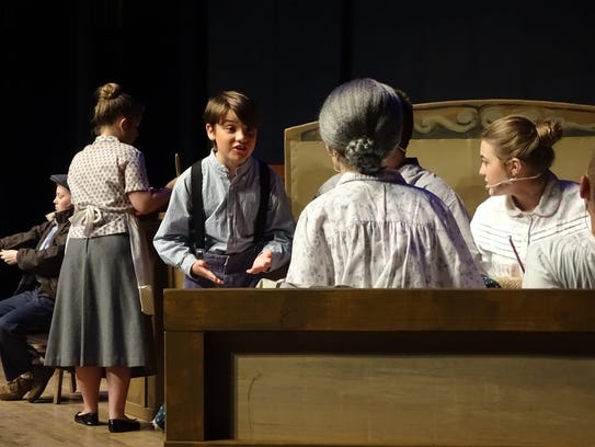 """Brody Cahill plays Charlie Bucket in the musical """"Willy"""