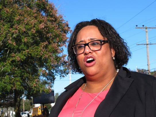 Ashley Bennett, a Democratic candidate for freeholder