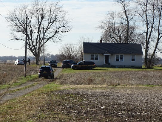 A standoff outside a Marion  area house came to an