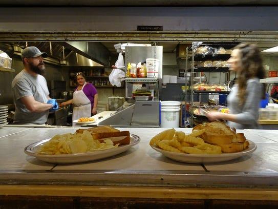 The Shovel Restaurant reopened Wednesday.