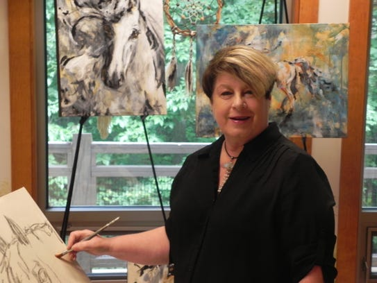 Margaret Culver is February's featured artist at Art and Antique Gallery in the Eau Gallie Arts District,