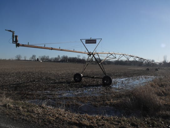 Irrigation units will still need to be used this summer