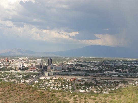 Tucson from Tumamoc Hill