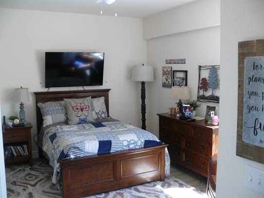 A resident's room at Promise in Brevard.