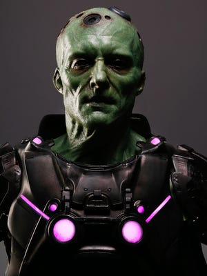 Blake Ritson stars as the iconic Superman villain Brainiac on Syfy's 'Krypton.'