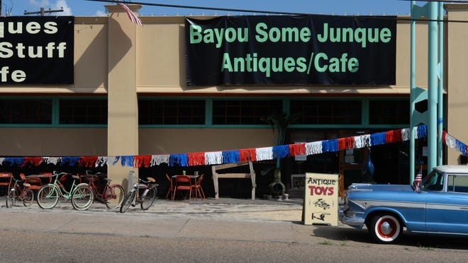 Events at Bayou Some Junque include open mic night and fraternity parties.