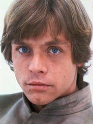 Actor Mark Hamill in 1980 as Luke Skywalker.