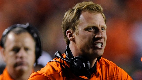 Auburn offensive coordinator Rhett Lashlee has a press conference tonight.