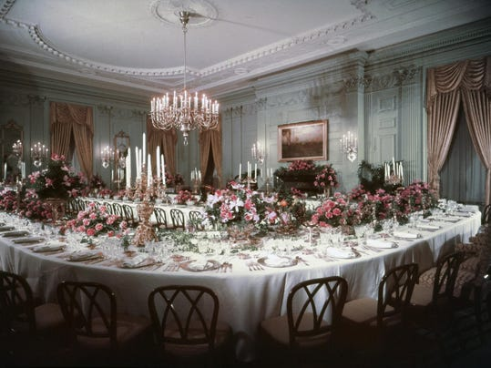 A Peek At White House State Dining Room S New Design