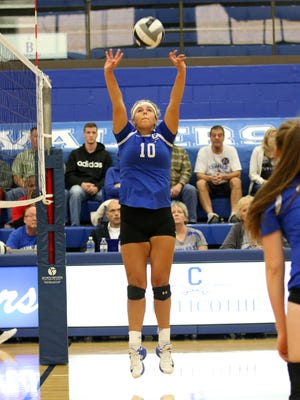 Chillicothe's Daelyn Fry has been named the 2017 Frontier Athletic Conference Volleyball Player of the Year.