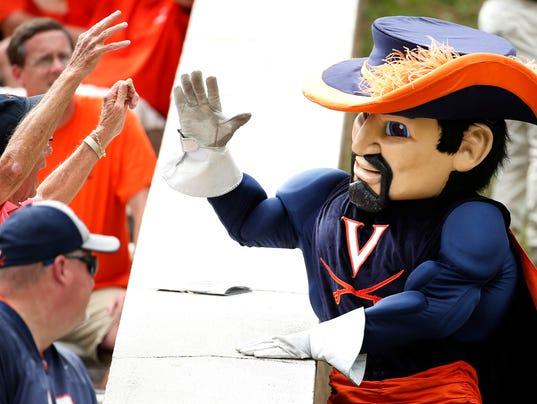 NCAA Football: Connecticut at Virginia