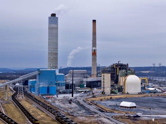 Brunner Island Power Plant, Wednesday, February 14, 2018. John A. Pavoncello photo