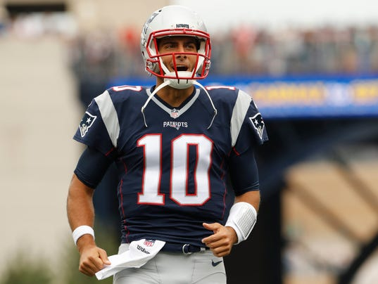 Jimmy Garoppolo's shoulder 'coming along' ahead of Bills ...