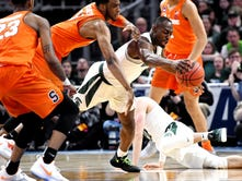 Poor shooting derails Michigan State's NCAA tournament dreams in 55-53 loss to Syracuse