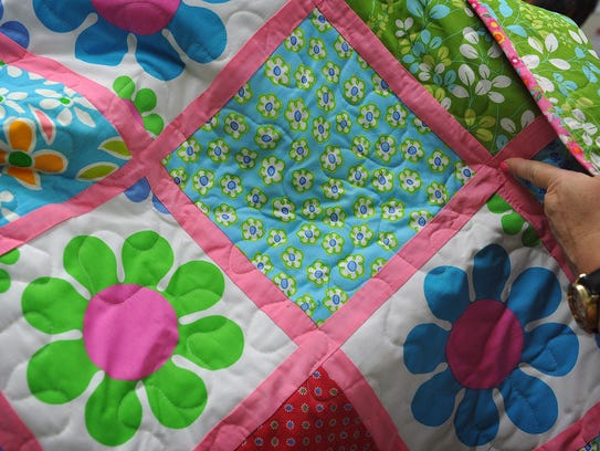 A beautiful window pane design is featured in one