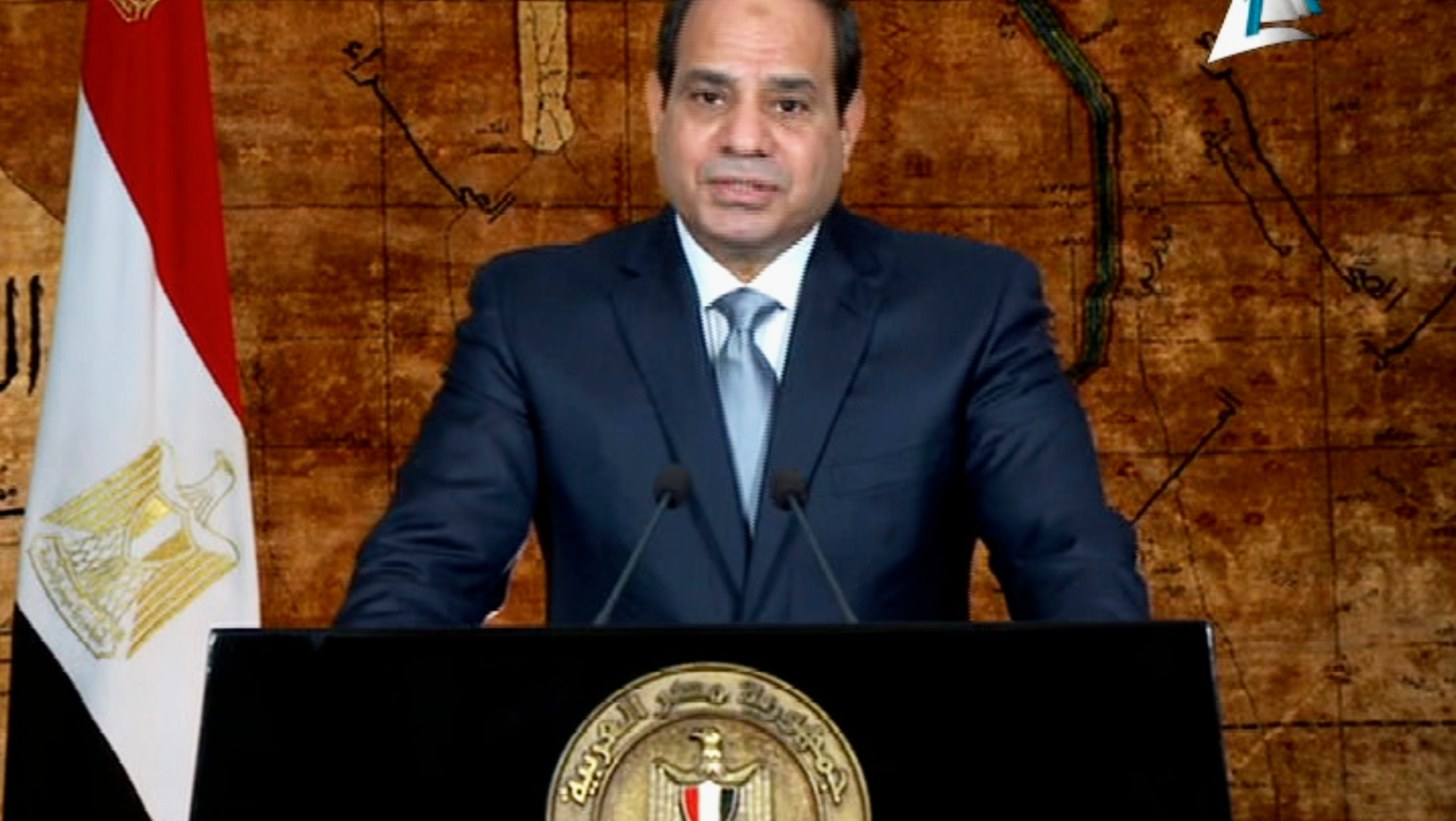 Egypt president asks for patience over power cuts