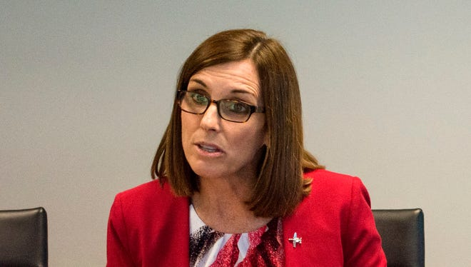 Incumbent Republican Rep. Martha McSally meets with The Arizona Republic editorial board on Friday, Oct. 7, 2016.