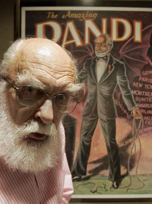 James Randi, known as the amazing Randi, died Oct. 20 at 92.