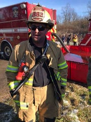 Ben Nelson of the Groton Fire Department