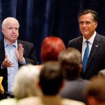 The two immediate past Republican presidential nominees, John McCain (2008) and Mitt Romney (2012), have blasted 2016 Republican front-runner Donald Trump.