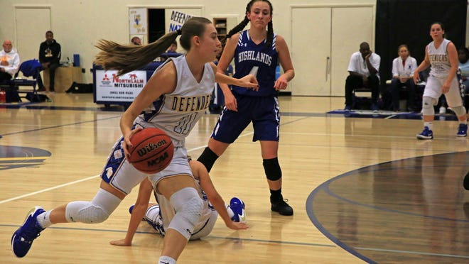 Lake Worth Christian senior Jillian Schenk has amassed over 2,300 points, 1,000 rebounds and 500 assists in her high school career, which began in the seventh grade.