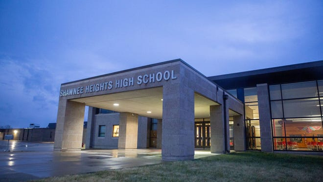 Half of the students in Shawnee Heights Unified School District 450 returned for in-person classes Tuesday, with the other half starting classes online. The two groups will alternate online and in-person classes under the district's hybrid learning model.