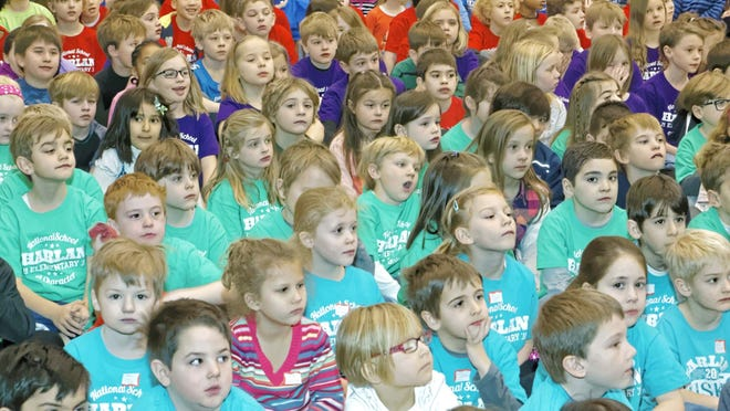 Assemblies like this one for the International Festival at Harlan Elementary School are a thing of the past as school districts like Birmingham struggle to remain safe in the time of COVID.