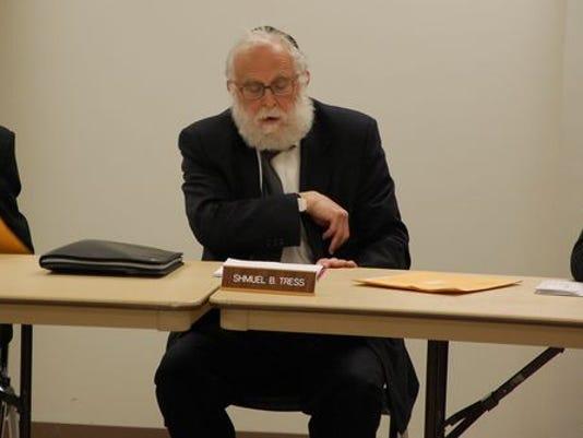 Ramapo Councilman Samuel Shmuel Tress