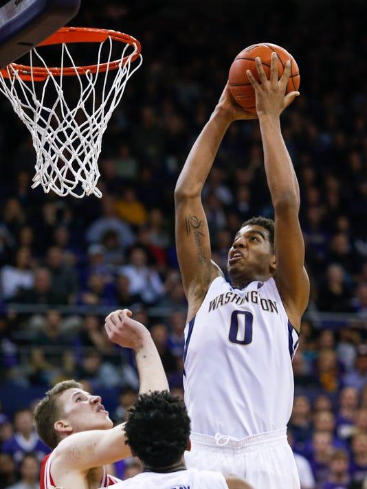 NCAA Basketball: Utah at Washington