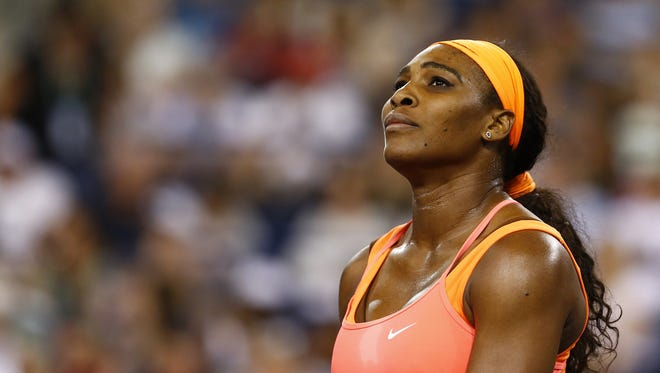 Julian Finney/Getty Images Serena Williams, seen during the 2015 BNP Paribas Open, will be seeking her third title in Indian Wells and first since 2001. Serena Williams looks on against Monica Niculescu at the BNP Paribas Open on March 13, 2015 in Indian Wells.
