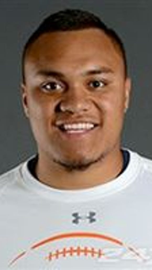 Paisa Savea is a sophomore defensive tackle at Snow College.