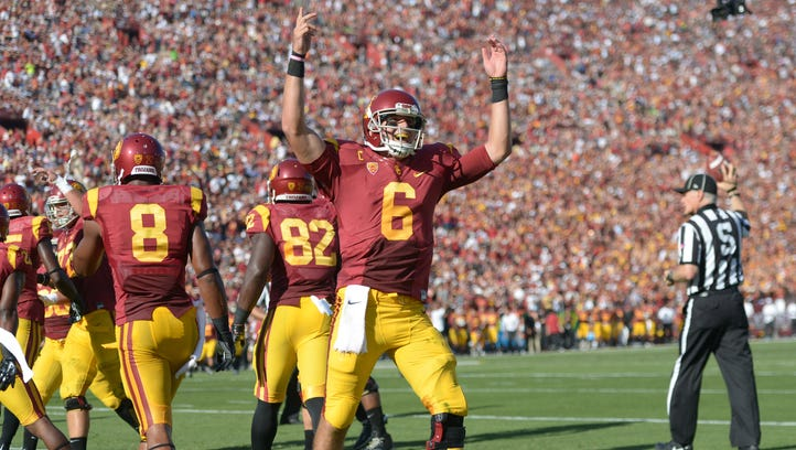Kessler successfully landed himself in the USC record book during his junior season.