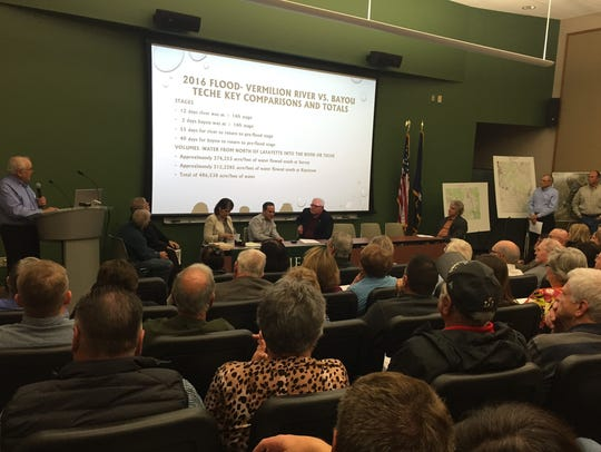 More than 100 people attended a Sierra Club forum Jan.