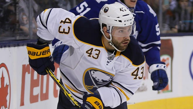 Buffalo Sabres traded Daniel Catenacci was traded to the Rangers on Tuesday.
